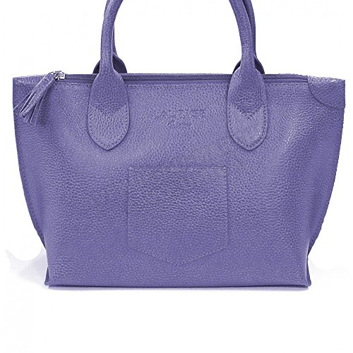 Sac épaule Marie cuir Fabrication Luxe Française Violet