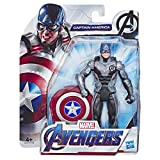 Marvel Avengers: Endgame - Captain America (Action Figure, 15 cm)