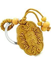 BestAmulets Amulet Lucky Charm Magical And Protection Powers Feng Shui Symbols Keychain Blessing