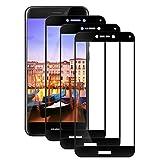 Elecplus [ 3 pezzi Pellicola Vetro Temperato Huawei P8 Lite 2017 Screen Protector [ 9H Durezza ] Alta Trasparente Pellicole Protettive per Huawei P8 Lite 2017