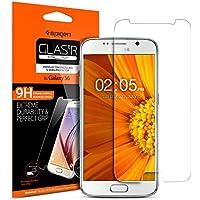 Pellicola Vetro Temperato Galaxy S6 Spigen® **Easy-Install Kit** [Anti-riflesso Ultra-Clear] Pellicola vetro temperato Samsung Galaxy S6, Pellicola Protettiva Galaxy S6 524GL20749