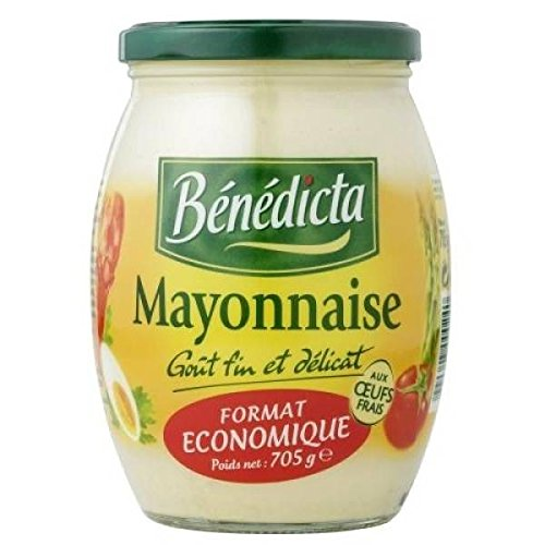 Mayonnaise nature bocal 705g - ( Prix Unitaire ) - Envoi Rapide Et Soignée