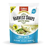 Harvest Snaps - Baked Pea Snacks - Lightly Salted (12 bags of 85 grams)