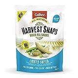 Harvest Snaps - Guisantes horneados Al punto de sal - 1 bolsa de 85 gramos