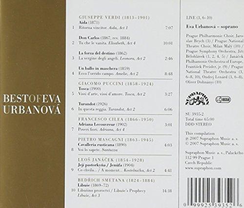 Soprano Best Of Eva Urbanova
