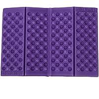 Almohadilla del asiento - SODIAL(R)Almohadilla del asiento Cojin de silla Impermeable Espuma Plegable Personalizado (Purpura)