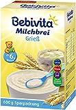 Bebivita Milchbrei Grieß, 3er Pack (3 x 600 g Packung)