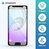 smartect® Samsung Galaxy A3 [2016] Premium Panzerglas [Bewusst kleiner als das Display] Display-Schutzfolie aus gehärtetem Tempered Glass   Gorilla-Glas mit Härtegrad 9H   Panzerfolie - Top-Schutzglas