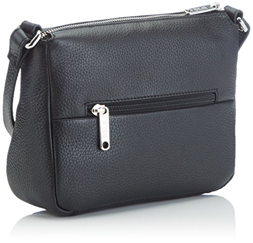 Bree Faro 1, Black, Cross Shoulder S, Sacs bandoulière Femme Noir (black 900)