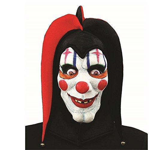 XIAO MO GU Latex Halloween Party Cosplay Masken Funny Full Head Clown Maske Kostüm für Erwachsene
