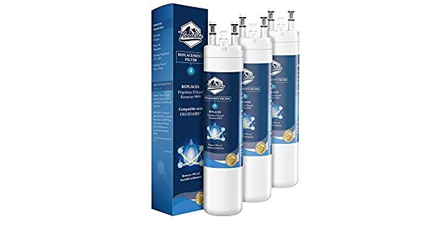 3PACK Glacial Pure ULТRAWF Compatible Refrigerator Water Filter Replacement Pure Source Ultra