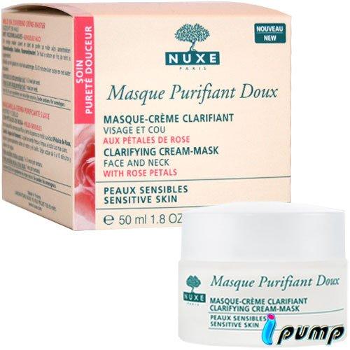 NUXE Masque Purifiant Doux aux pétales de roses 50ml
