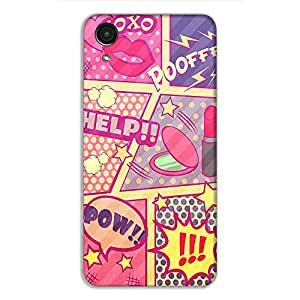 HTC Desire 728 Printed Pink Floyd plastic mobile phone case/cover by Red Hot Gifts and more