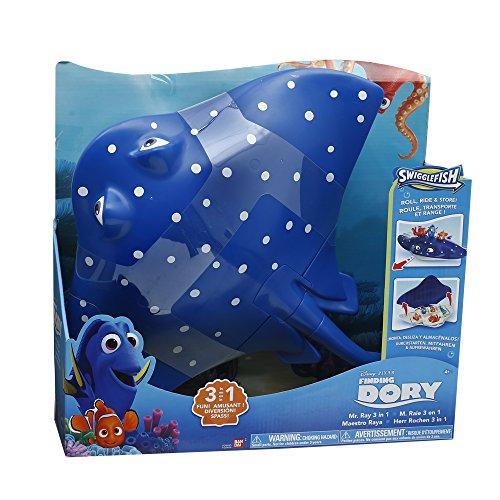 Giochi Preziosi - Finding Dory Personaggio Giocattolo Mister Ray 3 in 1