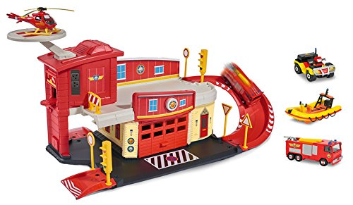 feuerwehrmann sam rescue center Ideal Simba Dickie Feuerwehrmann Sam Rettungsstation Set Nach Wahl Inklusive Fahrzeuge: Farbe: Wasserwacht