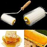 Fengh plastica utile roller Honey Bee Comb estrattore apicoltura attrezzatura