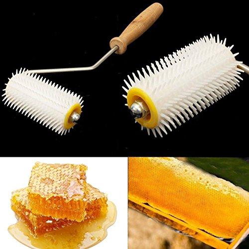Fengh Plastique utile Roller Bee Honey Comb Extracteur Apiculture équipement