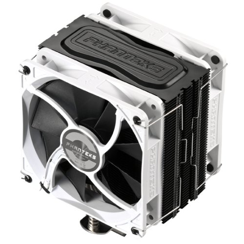 Phanteks PH-TC12DX BK - Ventilador de CPU (2.16 W, 1800 RPM, 12 cm), negro