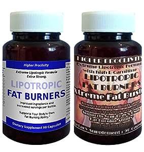 Pilules Higher Proclivity Lipotropic, 100% GARANTIE DE REMBOURSEMENT, avec du contenu supplémentaire Haute Lipotropic ** Bonus avec Xtreme FatBuster ** pour brûler les graisses, perte de graisse, Minceur et perte de poids