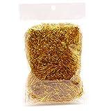 B Blesiya Erba di Canestro del Regalo della Carta della Canutiglia per I Materiali di Riempimento D'imballaggio del Regalo - Oro