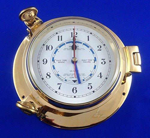 Messing Schiffe Bullauge Tide Uhr (Schiffe, Uhren)