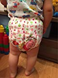 HaimoBurg 6er Pack Wasserdicht Baby Lernwindel Trainerhosen Unterwäsche Windeln Windelhose zum Toilettentraining Töpfchentraining (86/92, 6 Pack Mädchen) -