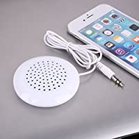 Cewaal Portátil estéreo de 3,5 mm Altavoz Mini caja acústica Amplificador para el reproductor de MP3 móvil del teléfono celular Mini altavoz Amplificador Música Cableado