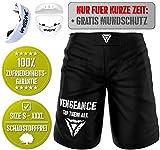 Vengeance MMA Premium Shorts + Gratis MUNDSCHUTZ