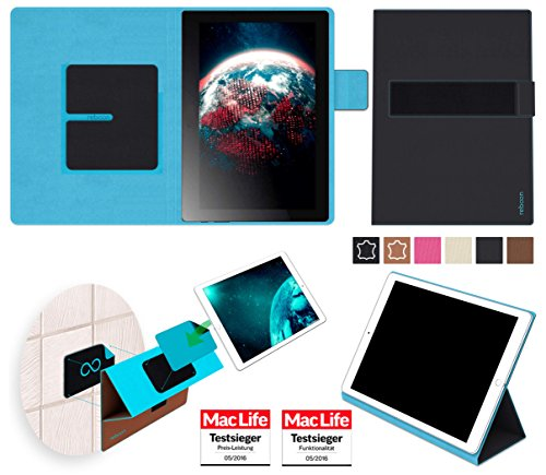 Hülle für Lenovo Tab 2 A10-70F Tasche Cover Case Bumper | in Schwarz | Testsieger