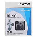"""Neewer 2 Pack Set Rain Cover Rainproof Camera Protector for Canon Nikon Sony Pentax Olympus and Other Digital SLR Camera and Lens up to 14"""" with 7.0"""" Lens Diameter /such as Canon Rebel T5i T4i T3i T3 T2i T1i XS XSi XT XTi SL1, EOS 700D 650D 600D 550D 500D 450D 400D 350D 1100D 1000D 60D 50D Nikon D7100 D7000 D5200 D5100 D5000 D3200 D3100 D810 D800"""