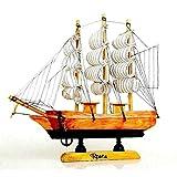 Modellbau Modell reduit Nautical Boot Voile Holz Fertigung 20cm