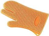 Rosenstein & Söhne Silikon Handschuhe: Silikon Hitzeschutzhandschuh (Silikon Handschuhe Kochen)