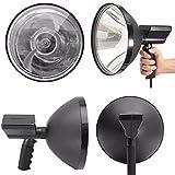 ELECTROPRIME Waterproof Spotlights Handheld Lamp Hunting Fishing IP56 12V 100W Camping 6000K