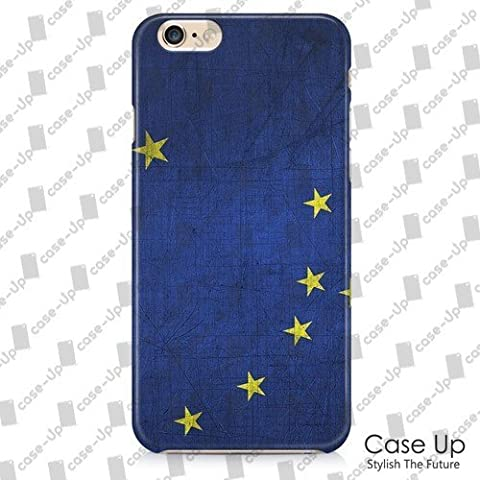 Personalized casoUP Alaska US State Flag Snap