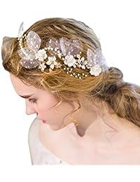 YAZILIND tocado belleza de la mujer nupcial de la boda clip de pelo broches de la aleación de diamantes de fiesta accesorios de pelo