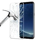 Samsung Galaxy S8 Panzerglas, ikalula 3D Full Coverage Galaxy S8 Schutzfolie Anti-Kratzer Anti-Luftblasen Displayschutz für Samsung Galaxy S8 - Transparent (1 Stück)