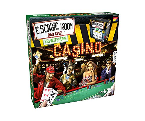 Noris 606101641 Escape Room Erweiterung Casino, nur mit dem Chrono Decoder Spielbar