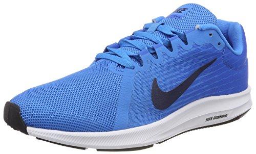 Nike Damen Downshifter 8 Laufschuhe Blau Glow/Midnight Navy-Light Photo Blue 403, 36.5 EU