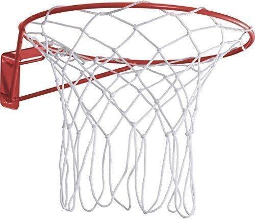 Pour Sports en extérieur Taille réglementaire 15mm tube en acier et bague Netball Filet en nylon