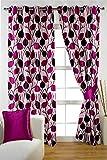 PVR Fashion 3 Piece Polyester Door Curta...