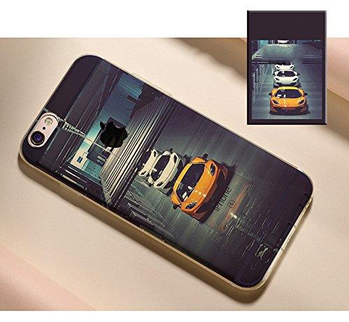 Coque iPhone 8 Silicone TPU Coque de Protection pour iPhone 8 Paysage Créatif Souple Motif Landscape Etui Housse de Protection, Sunroyal Premium Ultra Mince Case Cover Bumper pour iPhone 8 4.7 Pouces  Paysage 17