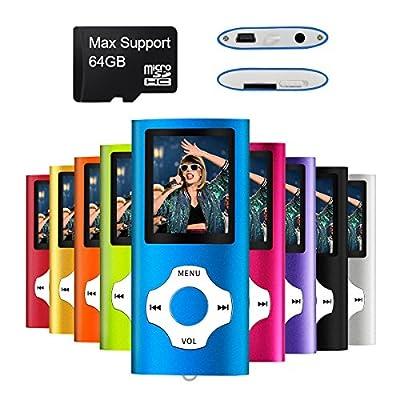 Mymahdi – Digital, Compact et Portable Lecteur MP3/MP4 (Max Support 64 Go Carte Micro SD) avec Photo Viewer, E-Book Reader et Radio FM Enregistreur Vocal et vidéo vidéo en Darkblue … par MYMAHDI
