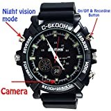 Best Spy Watches - M MHB Night-vision-watch-2 Spy Wrist Watch with Audio Review