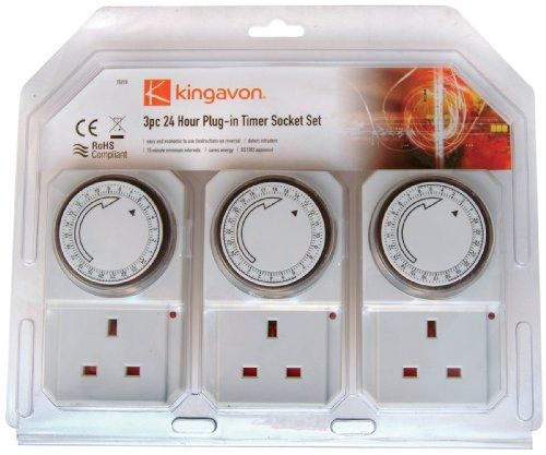 Kingavon BB-TS210 24 Hour Plug-in Timer Socket Set Test