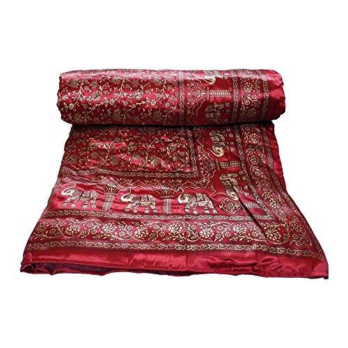 Kuber Industries™ Microfibre Single Bed Silk Comforter/Quilt/Razai (225*150 Cm)