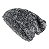 Buff Knitted Hat Nuba Mütze, Graphite, One Size