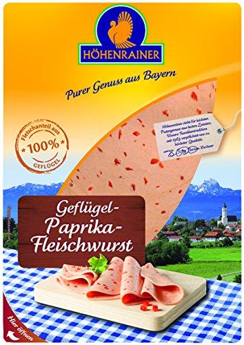 Höhanrainer Geflügel-Paprika-Fleischwurst, 80 g