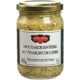 ERIC BUR Moutarde Ancienne au Vinaigre de Cidre 200 g - Lot de 6