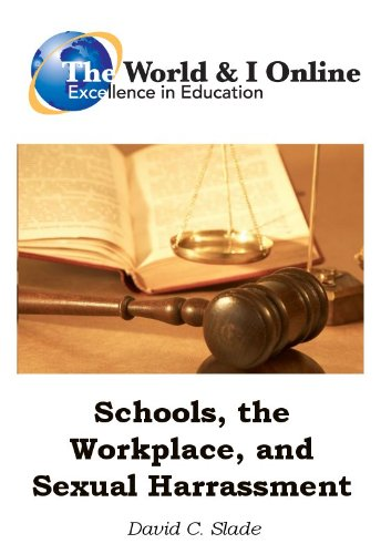 Schools, the Workplace, and Sexual Harassment (English Edition)
