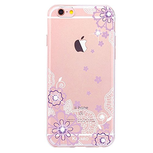 iPhone 6S Coque Silicone,iPhone 6S Coque Transparente,iPhone 6S Coque Antichoc,Coque Housse Etui pour iPhone 6 / 6S,EMAXELERS iPhone 6S Silicone Case Slim Gel Cover,iPhone 6 Coque en Silicone Ultra-Mi S TPU 7